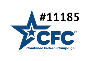 combined federal campaign logo star with cfc and feea number 11185