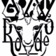 black and white GOAT Rodeo logo