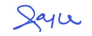 signature of joyce warner