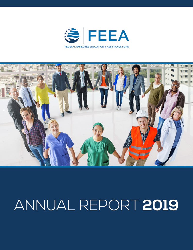 image of 2019 annual report cover linked to a pdf of the annual report