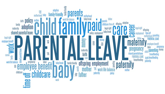 wordcloud with words related to children and families